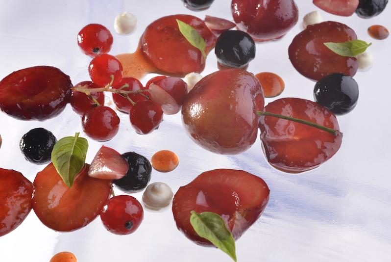 cerises et autres fruits rouges
